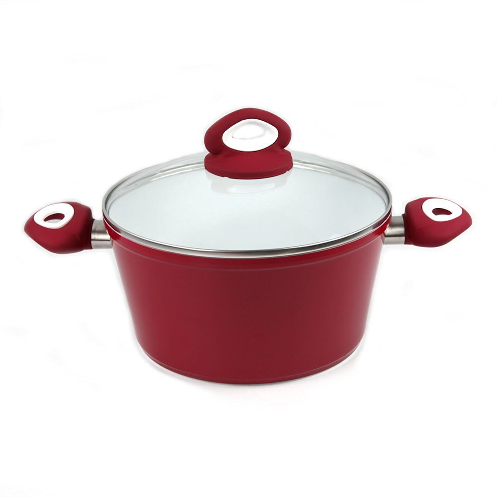 Home Cooking Heavy Guage Forged Aluminum Sauce Pot Stock