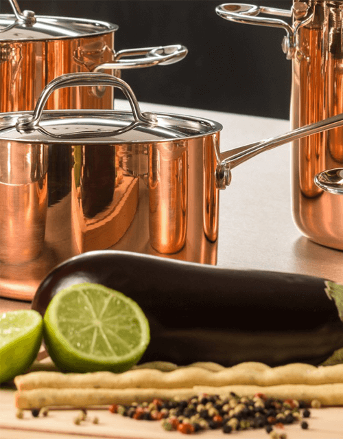 copper cookware pots and pans